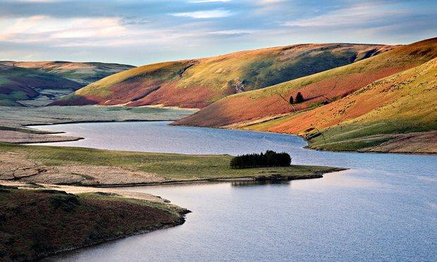 Craig Goch reservoir, Elan valley, Powys, mid Wales.